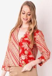 Danar Hadi Blazer Iris Batik | Danar Hadi for Women | Pinterest