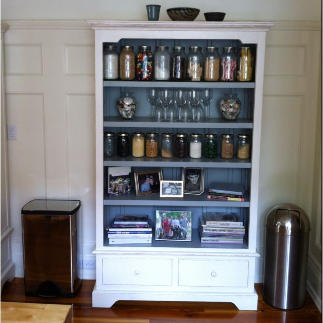 great storage idea for no pantry home rental decorating pintere