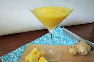 Mango Ginger Smoothie