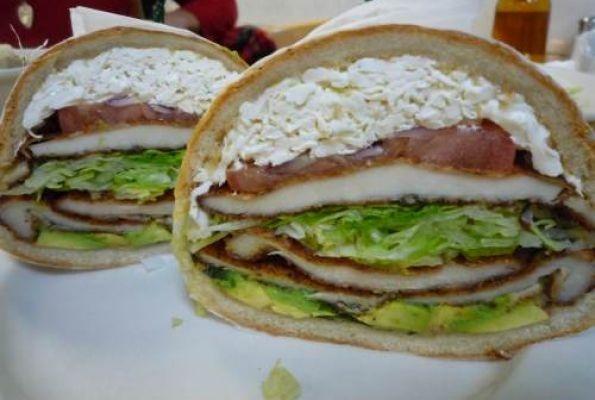 Chile-Marinated Pork Sandwiches On Cemita Rolls Recipes — Dishmaps