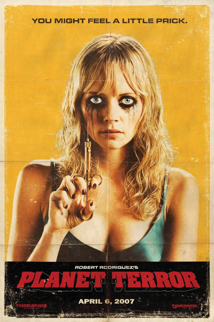 planet terror poster movies