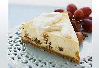 Rum Raisin Cheesecake | Cheesecake Parking Only | Pinterest