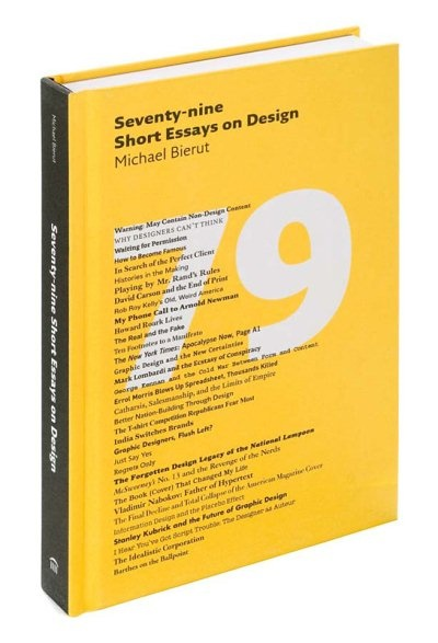 michael bierut 79 short essays on design