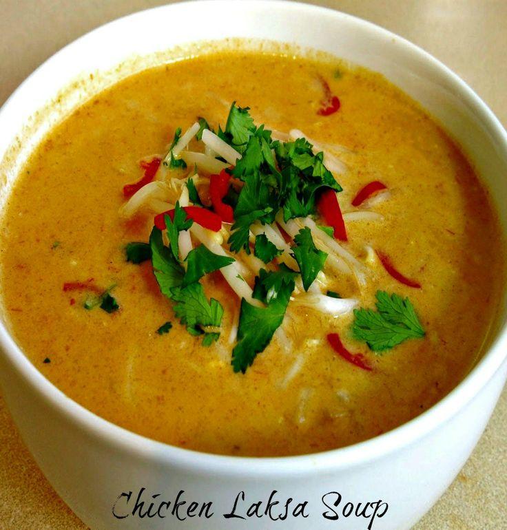 Chicken Laksa Soup. | recipes | Pinterest