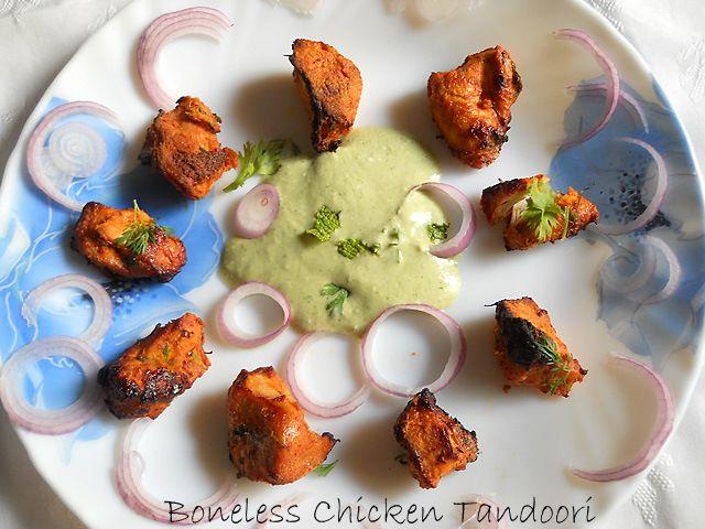Boneless Chicken Tandoori Restaurant Style – Baked Tandoori Chicken
