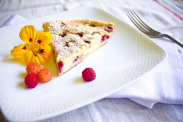 Raspberry Clafouti | Food: Dessert | Pinterest
