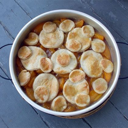 Perfect Peach Cobbler | Food | Pinterest