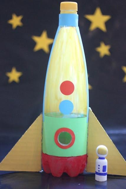 Ракета из пенопласта своими руками 36