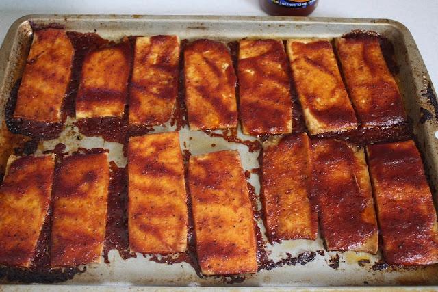 Baked BBQ Tofu | Vegan | Pinterest