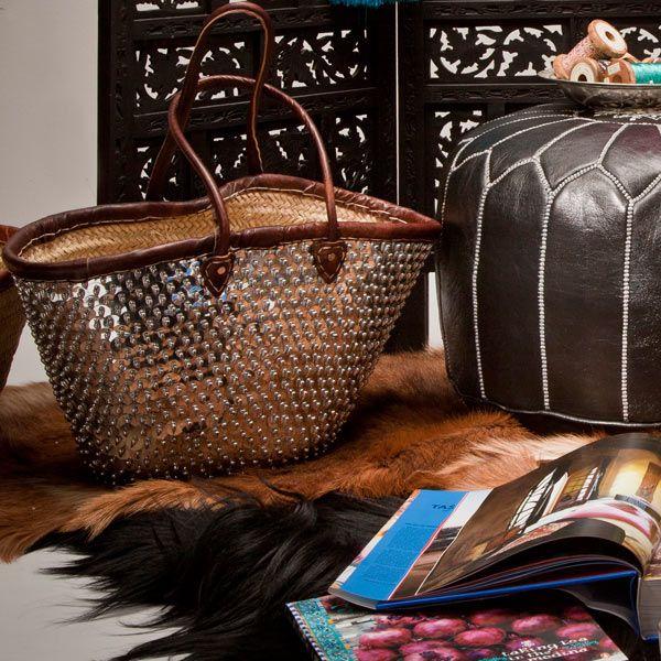 Bohemia Moroccan Shopping Basket, Casablanca :: Bohemia