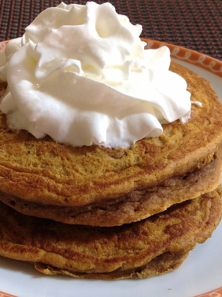 Pumpkin Pie Pancakes « Marlene Koch | Rise & Shine | Pinterest
