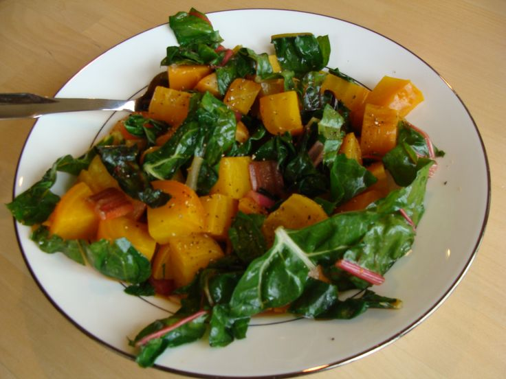 Roasted beets and rainbow chard | Healthy, tasty eats! | Pinterest