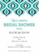 Modern Wedding Bridal Shower Invitation