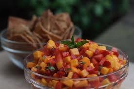 Strawberry Mango Salsa! Serve with cinnamon-sugar pita chips. Kids ...