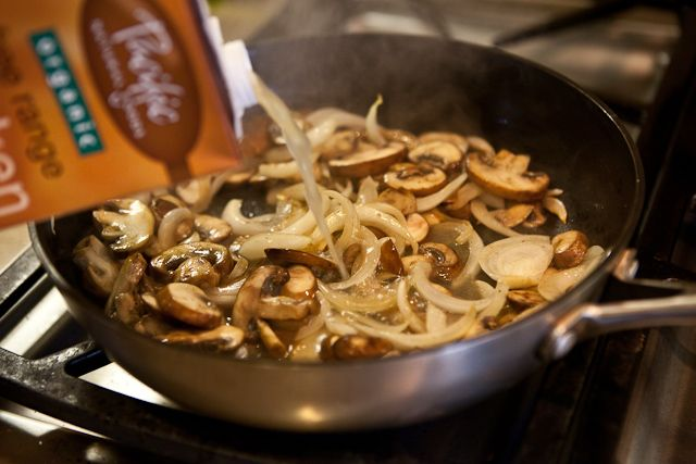 Porterhouse Steak Recipe with Whiskey Mushroom Sauce | Recipe