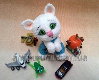 Free Little Kitty Cat Amigurumi Crochet Pattern And Tutorial : kitty pattern  Amigurumi!!  Community Board Pinterest