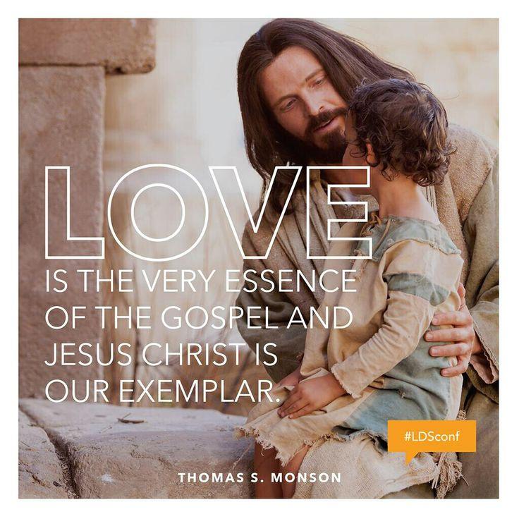 Thomas S. Monson quote on love. CTR Pinterest