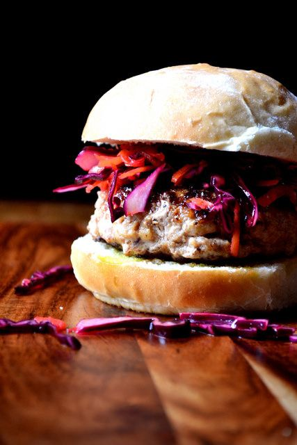 Recipe for Pork and Apple Burgers by FrugalFeeding, via Flickr