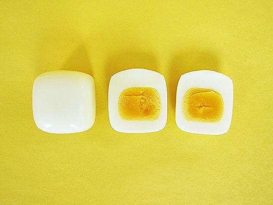 Square eggs...