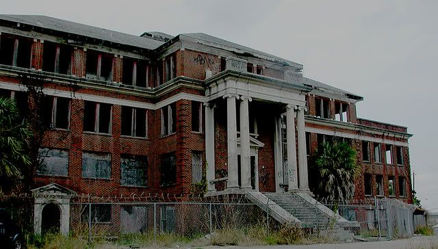 jeff davis hospital haunted