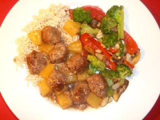 Sweet and Sour Meatballs | Paleo etc | Pinterest