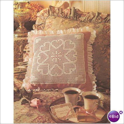 Crochet Patterns Nz : Crochet Pillow Pattern Sweetheart Pillow on eBid New Zealand