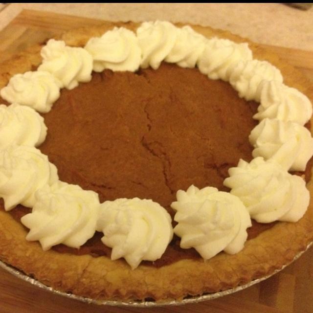 Pumpkin Pie My Baking Trials And Errors