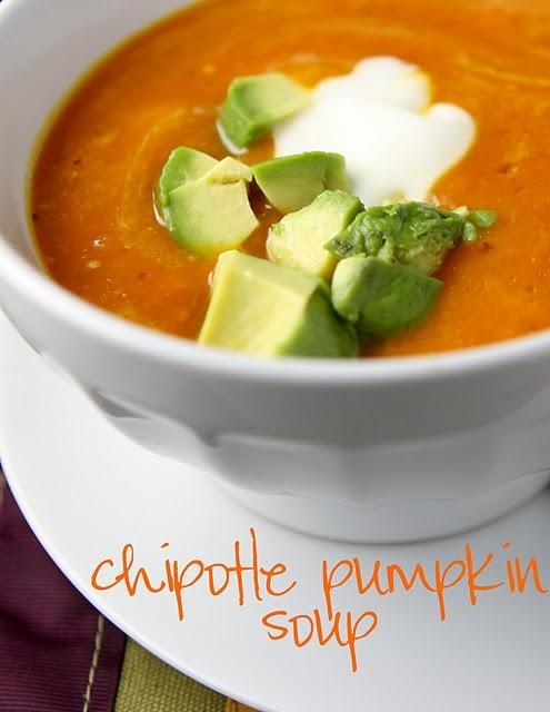 Chipotle Pumpkin Soup | Soup's On | Pinterest