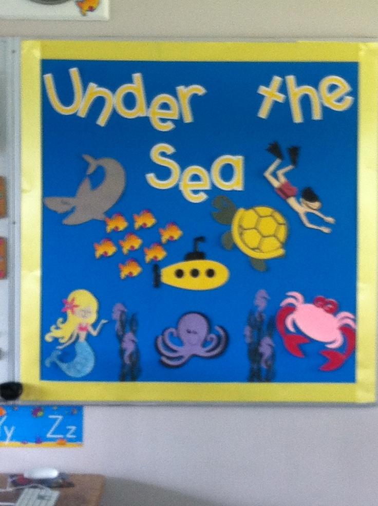 Classroom Decor Under The Sea : Under the sea classroom decor
