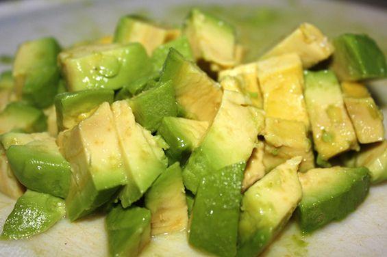 Feta Avocado Salsa & Pita Chips | Recipe