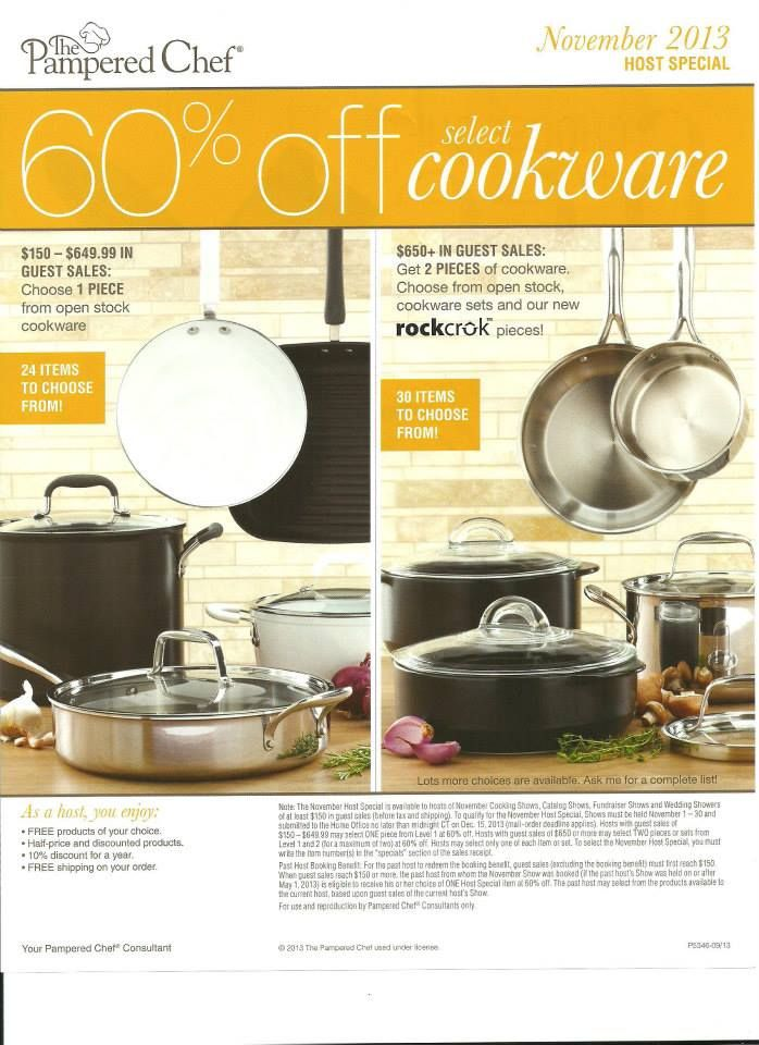 Pampered Chef November Host Special