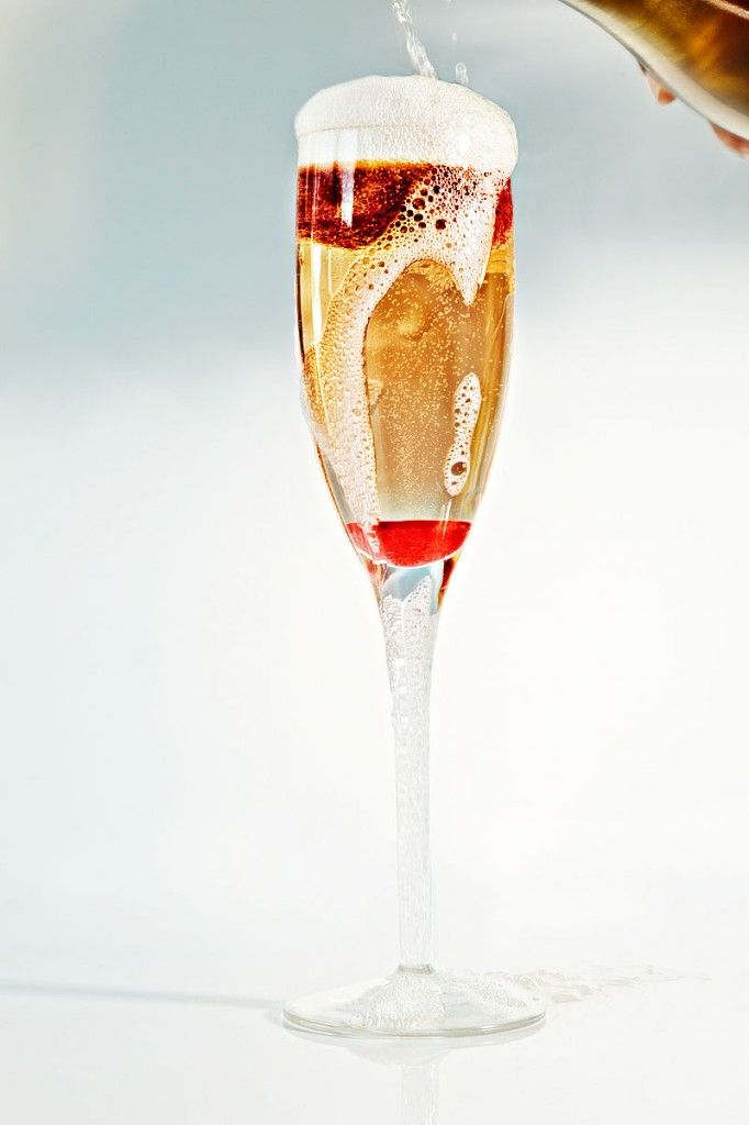 the flapper champagne cocktail | flammable liquid!! | Pinterest