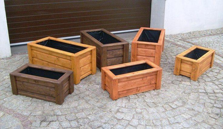 Pflanzkasten Holz Rechteckig