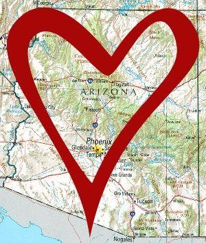arizona valentine state