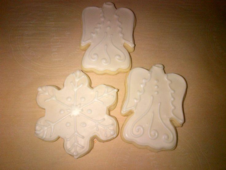 Snowflake and Angel Sugar Cookies | FOOD | Pinterest