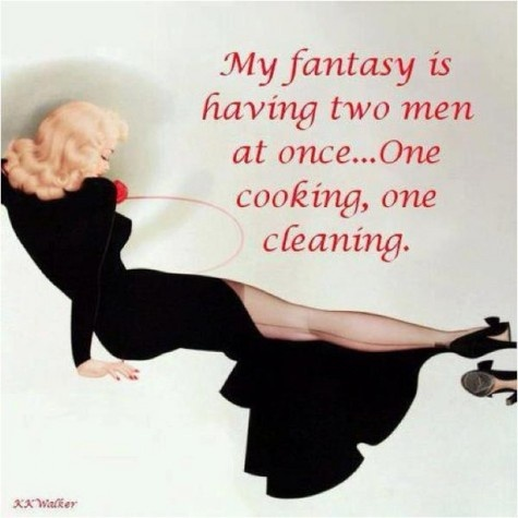 My fantasy is...