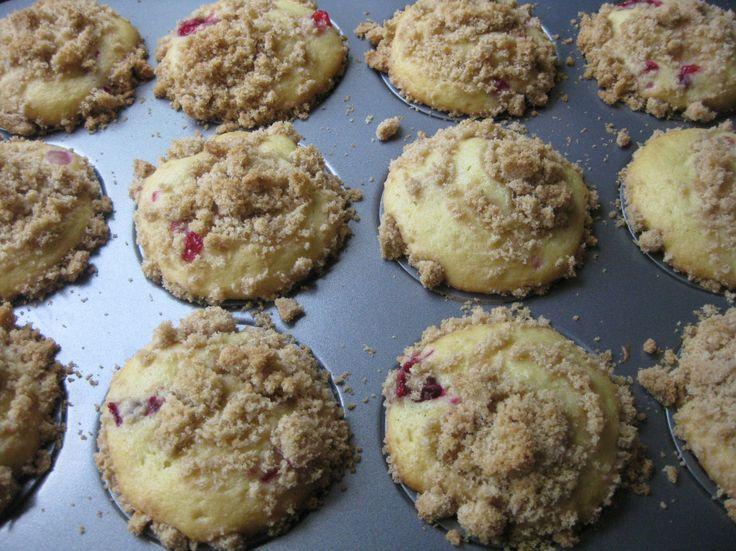Cranberry Peach muffins - yummy! | Sweet treats | Pinterest