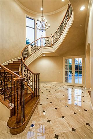 Beautiful staircase and more