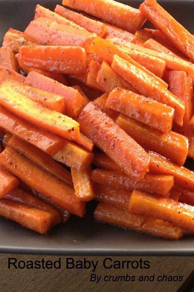 Roasted Baby Carrots | Yummy Tips & Recipes | Pinterest