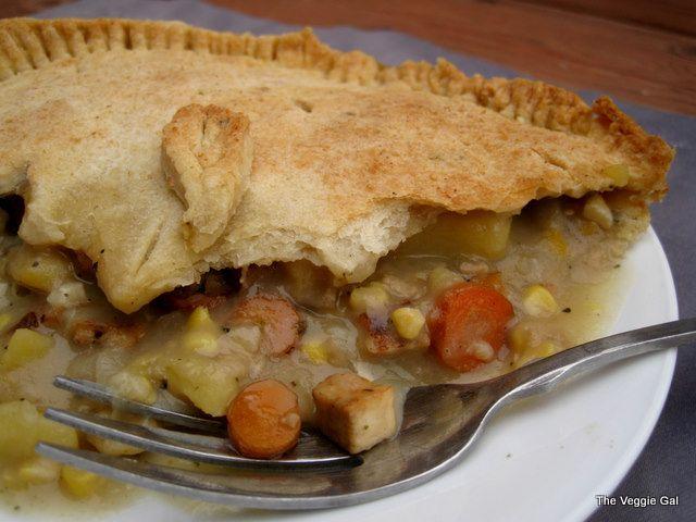 Tofu pot pie | Eat Your Vegetables! | Pinterest