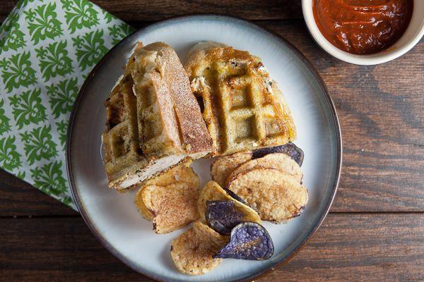 Italian Chicken Panini in a Waffle Iron | Recipe