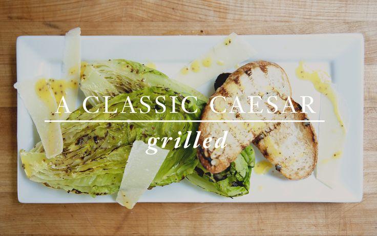 A Classic Caeser (grilled) tutorial video