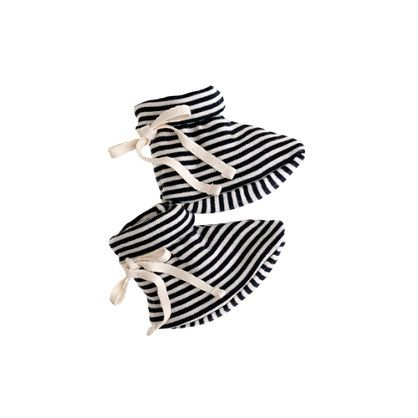 Nature Baby® booties in stripe