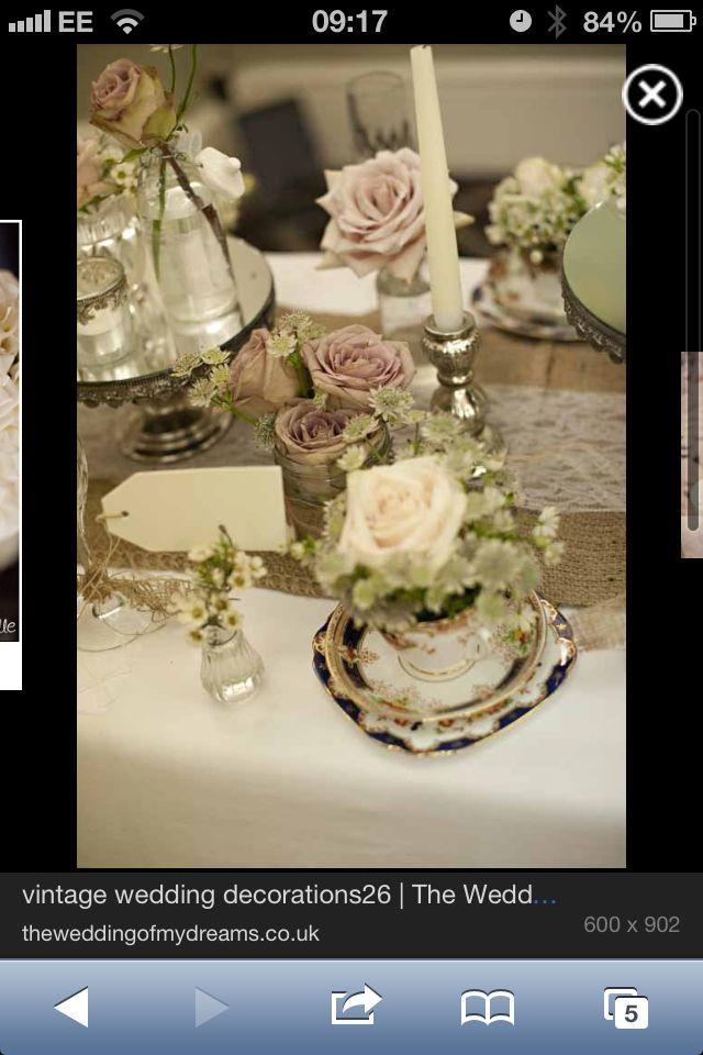 Table decoration wedding old ideas pinterest