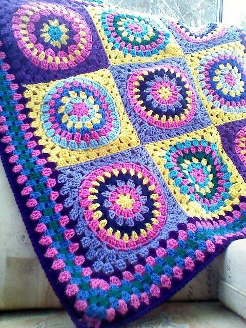 Crocheting Pinterest : Lovely colours. Crochet Pinterest