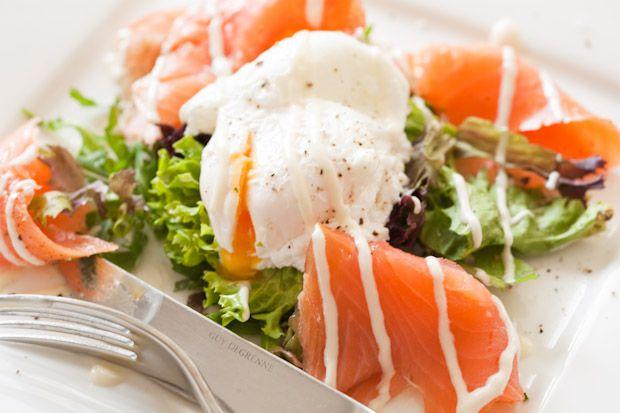 Smoked Salmon Salad - will be making this tonight! (smoked a salmon ...