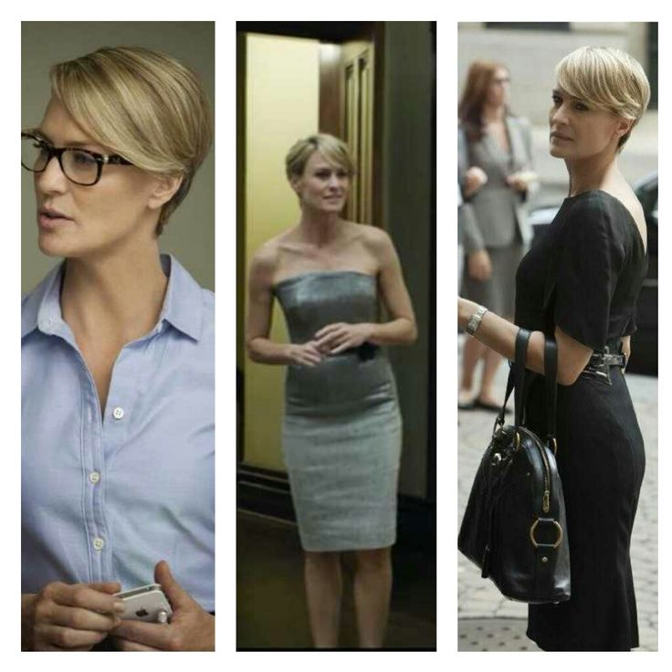 Robin Wright Haircut: Robin Wright As Claire Underwood On House Of Cards