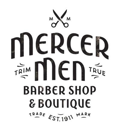 Mercer Men? : lettering handcrafted by Simon Walker for a barber ...