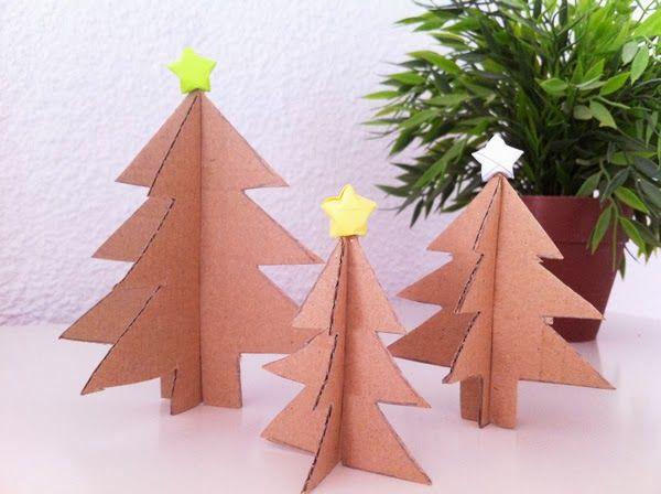 Pin by trini mora on ideas para navidad pinterest - Como hacer un arbol de navidad ...