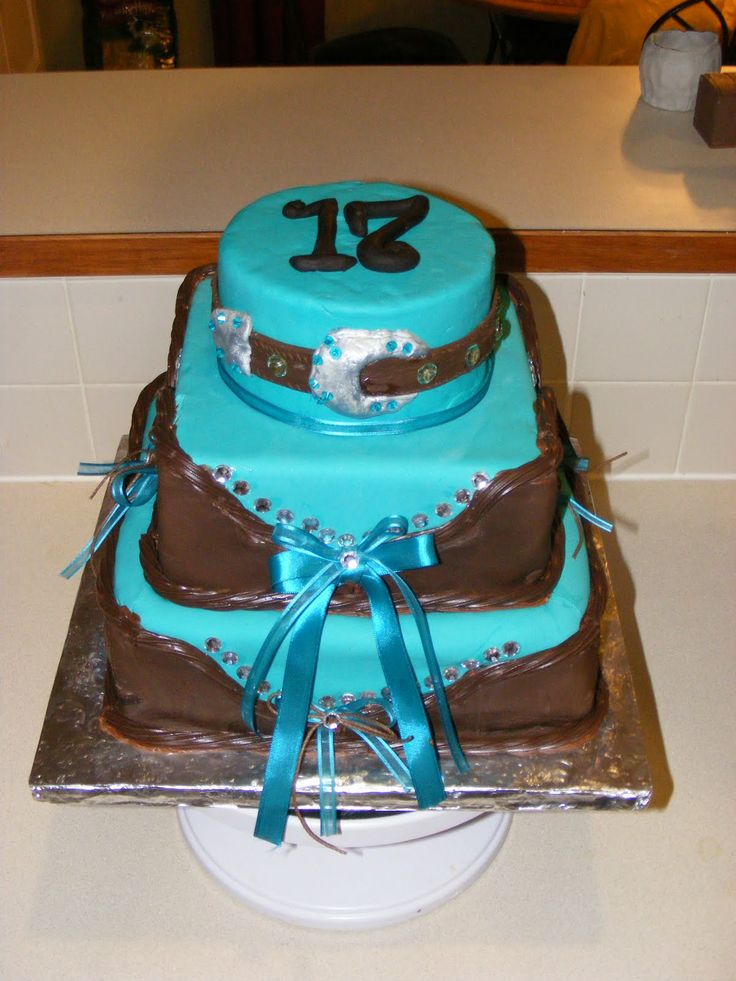western style cakes for birthdays